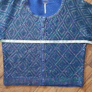 Free People Sweaters - Free People Sequin Cardigan/Top